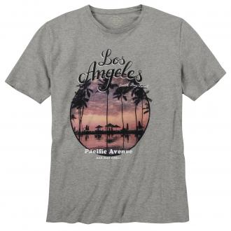 """Los Angeles"" T-Shirt mittelgrau_GREY 