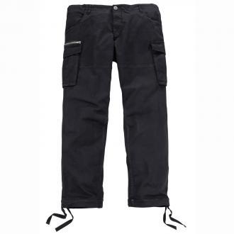 Angesagte Cargo-Hose mit coolen Details schwarz_BLACK | 42/30