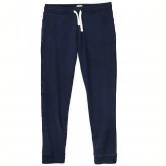 Bequeme Jogginghose mit breitem Gummibund blau_NAVYBLAZER | 3XL