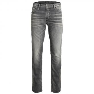 5-Pocket Jeans mit Elastananteil mittelgrau_GREY   42/32