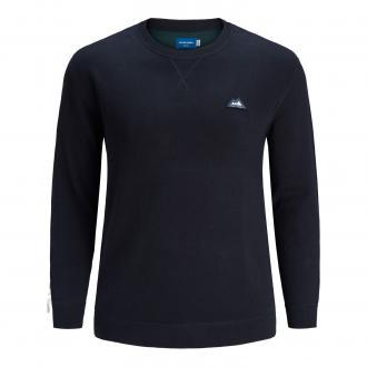Modischer Strick-Pullover marine_SKYCAPTAIN | 3XL