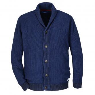 Stilvolle Strickjacke blau_BLUE | 3XL