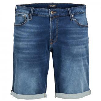 Bequeme Jeansshort mit Stretch-Anteil jeansblau_BLUEDENIM | W54