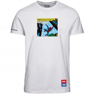 "Bequemes T-Shirt mit ""Marvel"" Print weiß_CLOUDDANCER | 3XL"