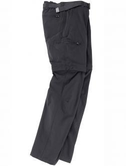 Trekkinghose vollelastisch zum abzippen schwarz_900 | 34