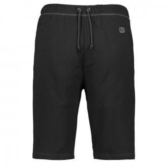 Kurze Jogging-Hose mit Reißverschlusstaschen schwarz_700 | 3XL
