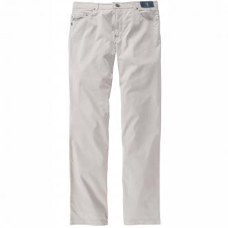 Hochwertige leichte Baumwollhose mit Stretch grau_590 | 33