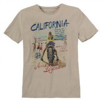 """Lässiges T-Shirt  """"California"""" beige_788   3XL"""