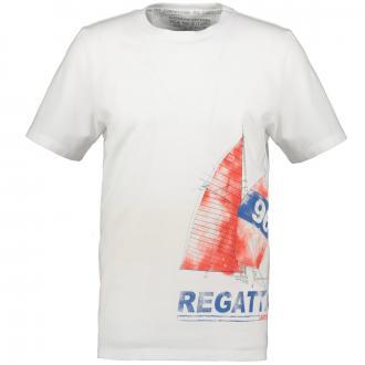 Modernes T-Shirt Segelprint weiß_600 | 3XL
