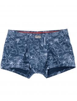 Pants mit Muster blau_70044 | 8