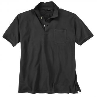 Basic Piqué-Polohemd in vielen Farben schwarz_15 | 3XL