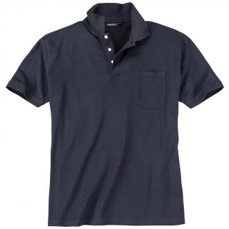 Basic Piqué-Polohemd in vielen Farben marine_1 | 3XL