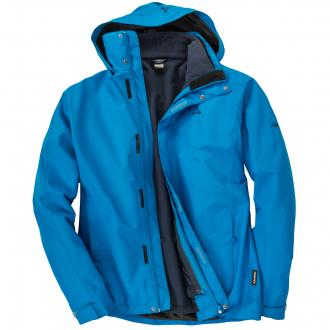 "2 in 1 Outdoorjacke ""Turin"" lichtblau_8320 