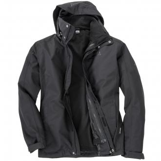 "2 in 1 Outdoorjacke ""Turin"" schwarz_9990 