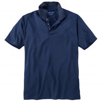 Funktions-Poloshirt dunkelblau_8180 | 6XL