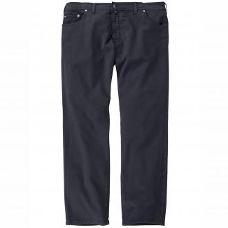 Bequeme Baumwollhose lang dunkelblau_69 | 64