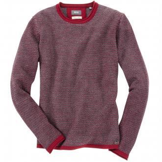 Sportiver Pullover aus feiner Merino-Mischung dunkelrot_43 | 60
