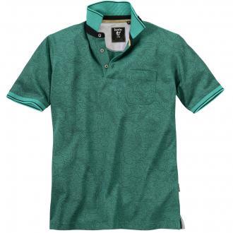 Bügelfreies Mikrofaser-Poloshirt grün_504 | 3XL