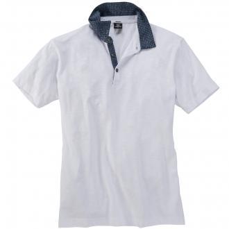 Poloshirt kurzarm weiß_100 | 5XL