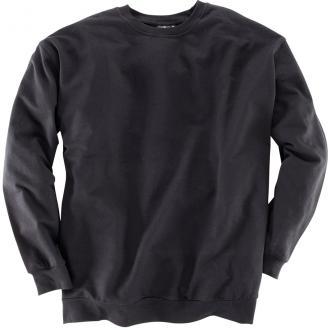 Basic-Sweatshirt schwarz_77 | 3XL