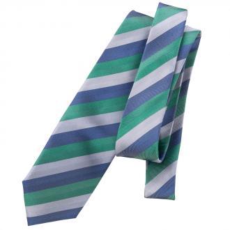 Hochwertige Seidenkrawatte blau/grün_GRÜN2 | One Size