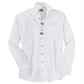 Trachtenhemd mit Applikationen weiß_01 | 3XL