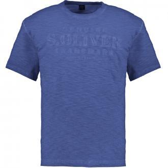 "T-Shirt mit hervorgehobenem ""s.Oliver""-Schriftzug dunkelblau_5670/400 | 3XL"