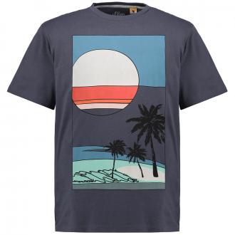 T-Shirt mit Grafikprint grau_98A1/30 | 3XL