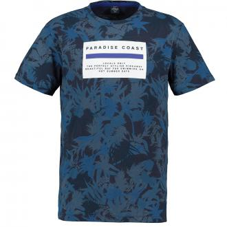 "T-Shirt ""Paradise Coast"" dunkelblau_58A0   3XL"