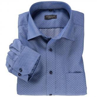 Bügelfreies Cityhemd langarm blau_18 | 50