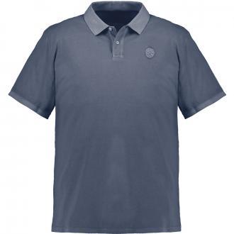 Poloshirt Logopatch auf der Brust marine_5882 | 3XL