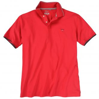 "Klassisches Poloshirt ""s.Oliver"" rot_3160 