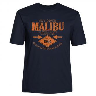 "T-Shirt ""Malibu"" dunkelblau_544/400 | 4XL"