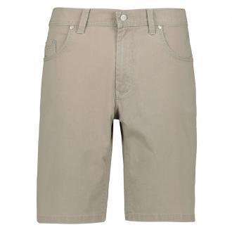 Leichte Jeansshort mit Stretchanteil beige_21 | 31