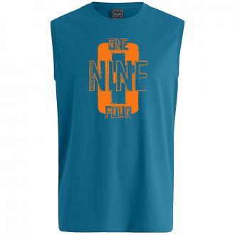 "Bequemes Tanktop mit ""NINE"" Print blau_27   3XL"