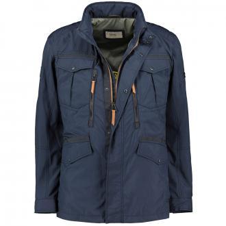 Wetterbeständige Jacke mit vielen Taschen dunkelblau_43/400 | 30