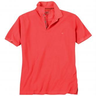 Poloshirt mit Logo-Stickerei rot_42 | 3XL