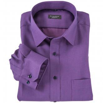 Cityhemd langarm violett_95 | 45