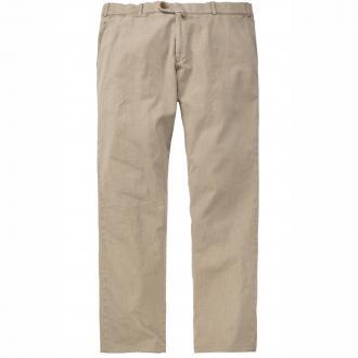 Lange Hose in untersetzten Größen beige_44 | 28