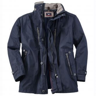 Leichte Jacke in Spezialgröße dunkelblau_6000 | 69