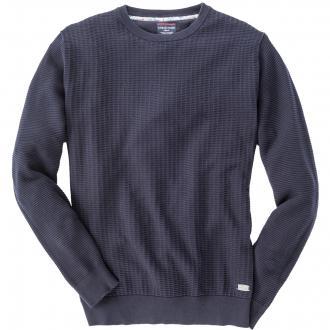 Leichter Baumwoll Pullover marine_105 | 3XL
