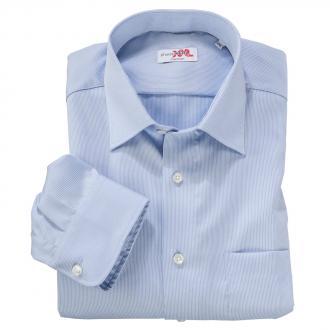 Business-Langarmhemd blau/weiß_1000 | 3XL