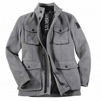 pierre cardin sportswear bequeme gore-tex übergangsjacke schwarz