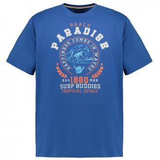 "Frontprint T-Shirt ""Paradise"" blau_776 | 3XL"