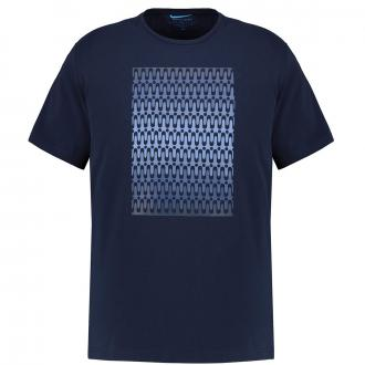 Modisches T-Shirt im Futureflex Style dunkelblau_3050 | 3XL