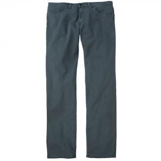 Klassische Baumwollhose mit dezenter Struktur graublau_660 | 28