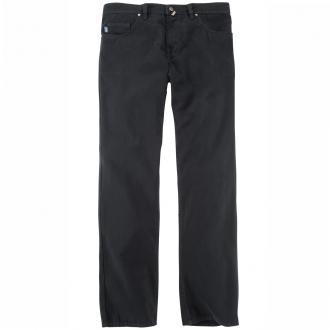 Hose aus Gabardine Stretch in 5-Pocket-Form schwarz 00   58 ... 1055e3f257