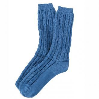 Trachtensocke in modischen Farben blau_10 | 44-45