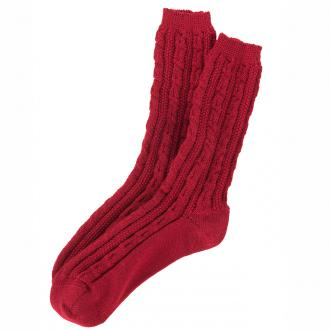 Trachtensocke in modischen Farben rot_20 | 44-45