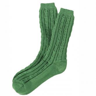 Trachtensocke in modischen Farben grün_36 | 44-45